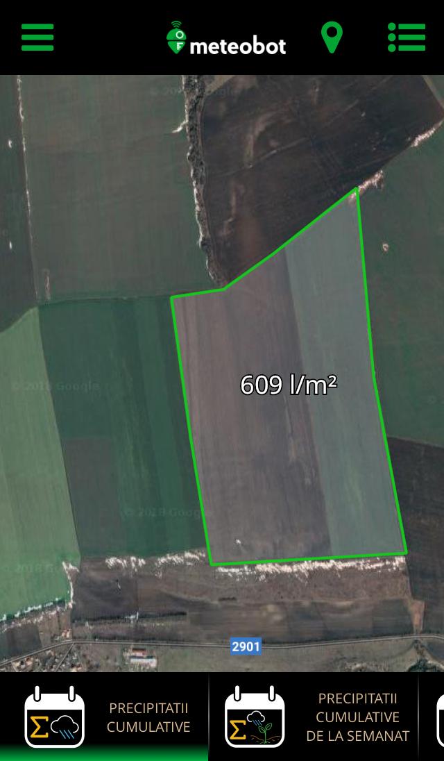 Meteobot App - INDICATORI AGRONOMICI