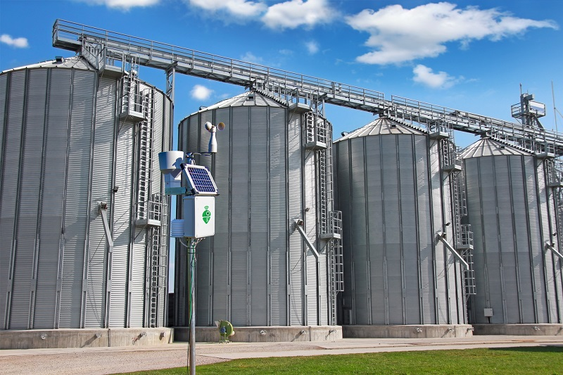 Meteobot Silos provides optimal storage conditions for grain silos