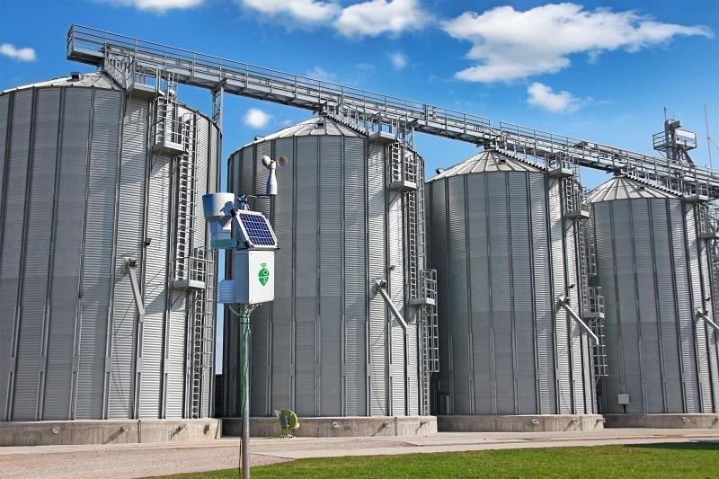 Meteobot Silos осигурява оптимални условия на съхранение на зърното в силозите